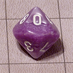 d10 or 10 Sided Dice for the Fyxt RPG System