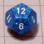 d12 or 12 Sided Dice for the Fyxt RPG System