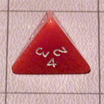 d4 or 4 Sided Dice for the Fyxt RPG System