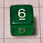 d6 or 6 Sided Dice for the Fyxt RPG System