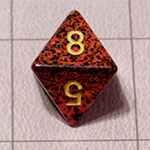 d8 or 8 Sided Dice for the Fyxt RPG System