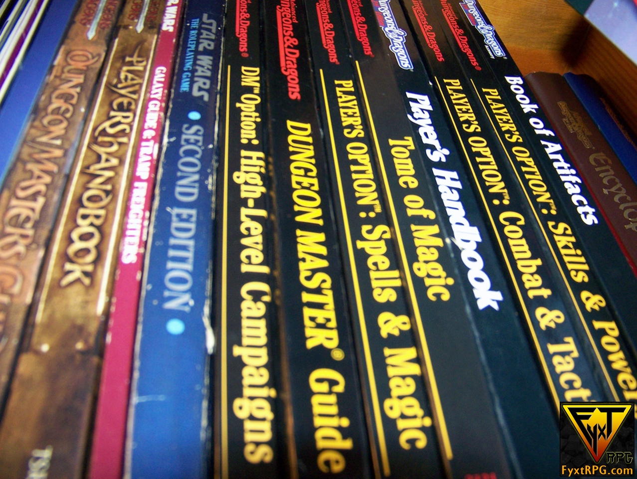 Poll & Comment Fest: How Many RPG Books Do You Own?