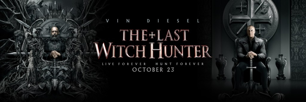 Last Witch Hunter Movie Banner