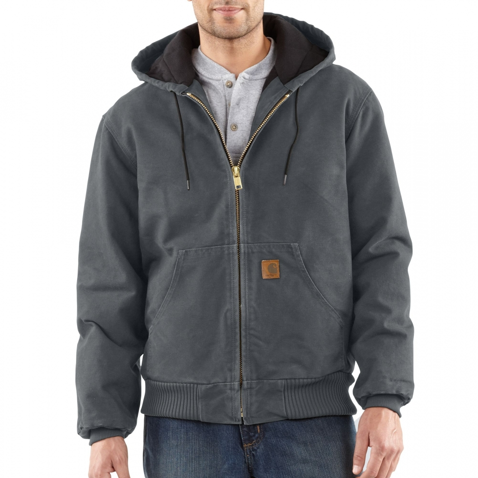 Image of Sam's Carhartt Jacket of Confidence