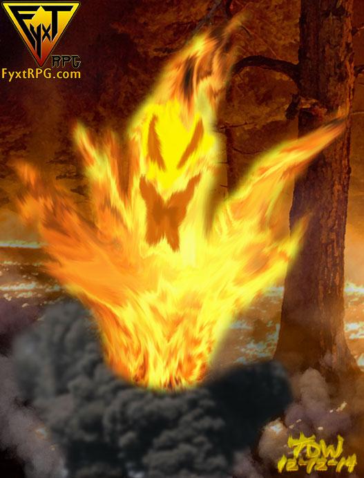 Image of Fire Elemental