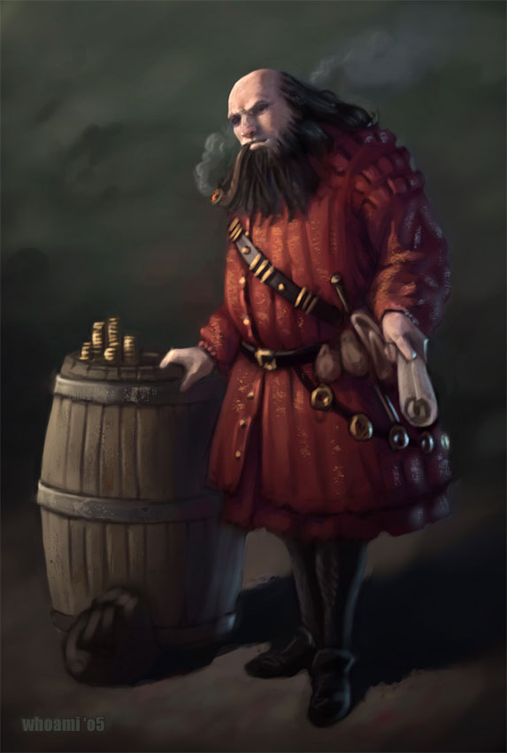 Jacob the Merchant for the Fyxt RPG Instant Play Quest