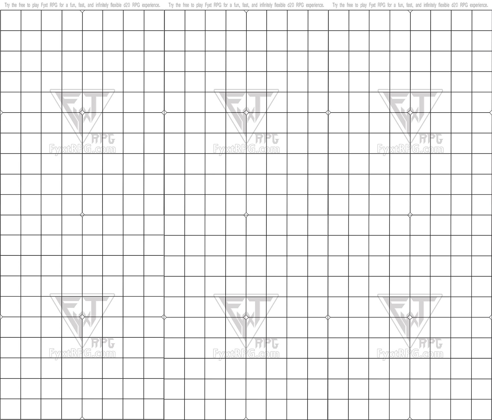 Fyxt RPG 6 8x10 Battle Mats Combined