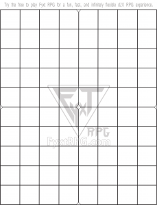 Fyxt RPG 8x10 Printable Battle Mat