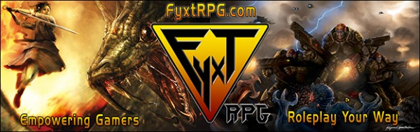 Quick Start Guide for the Fyxt RPG